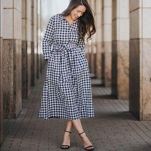DJ~ Checkered Dress